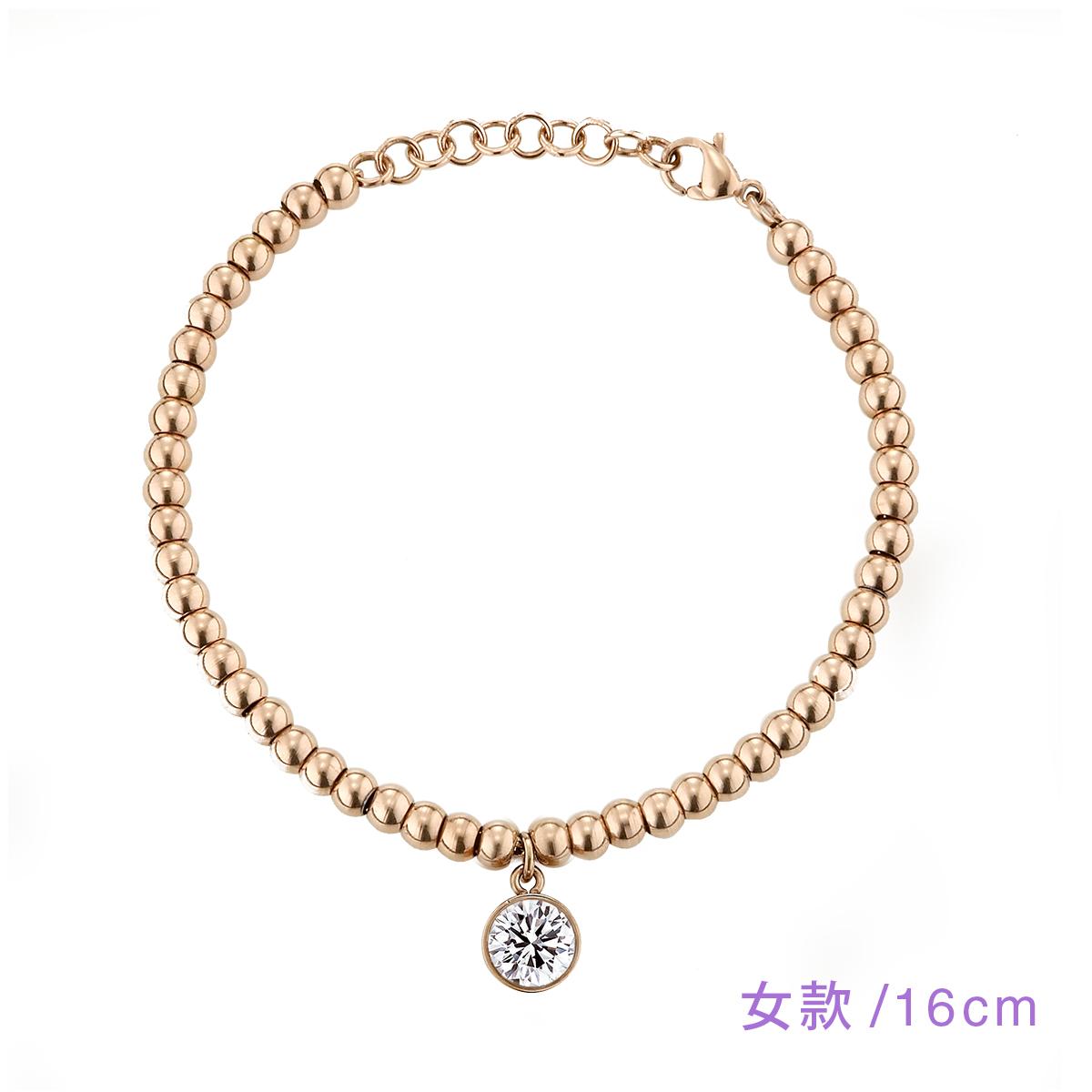 CX203 點滴意象-魅力單鑽串珠手鍊