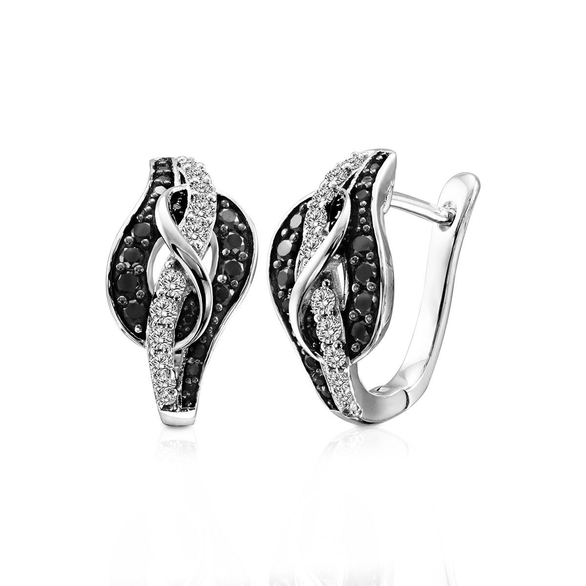 ED149 璀璨軌跡-完美曲線奢華耳環/一對販售