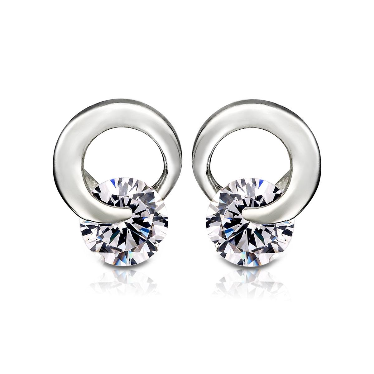 ED19 都會女性環繞設計耳環/一對販售