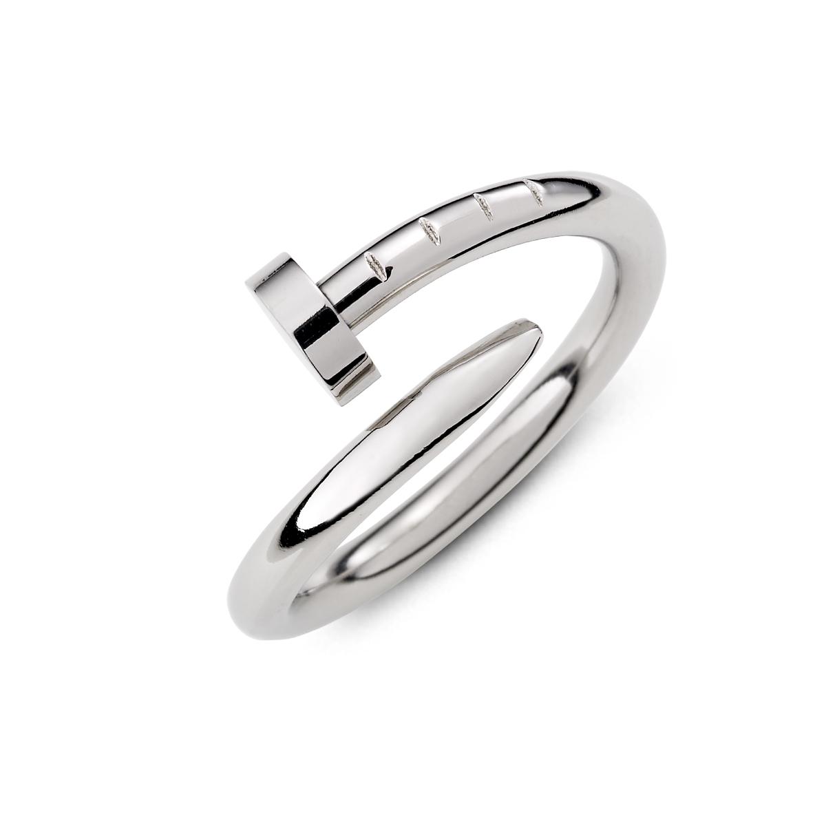 K376 歐美經典釘子造型個性戒指