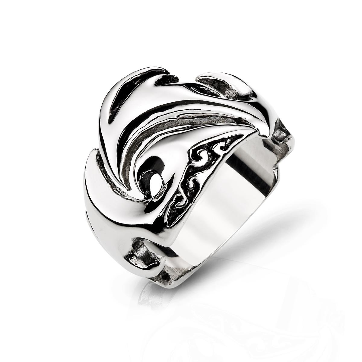 K42 個性勇氣風範戒指