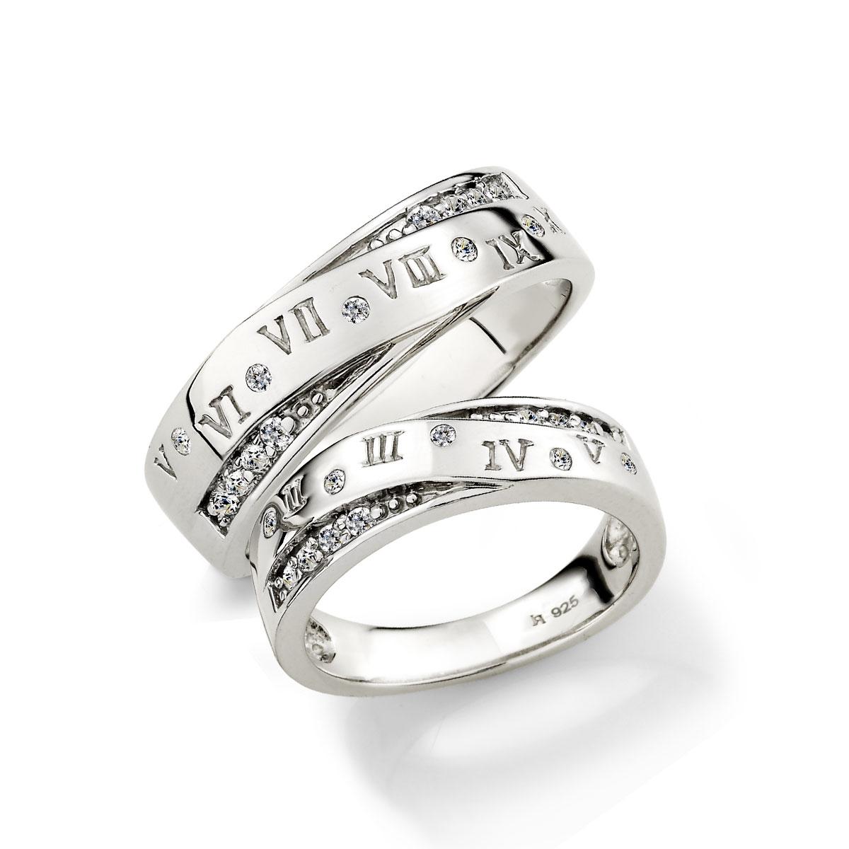 KSH22 羅馬戀人厚實情侶戒指