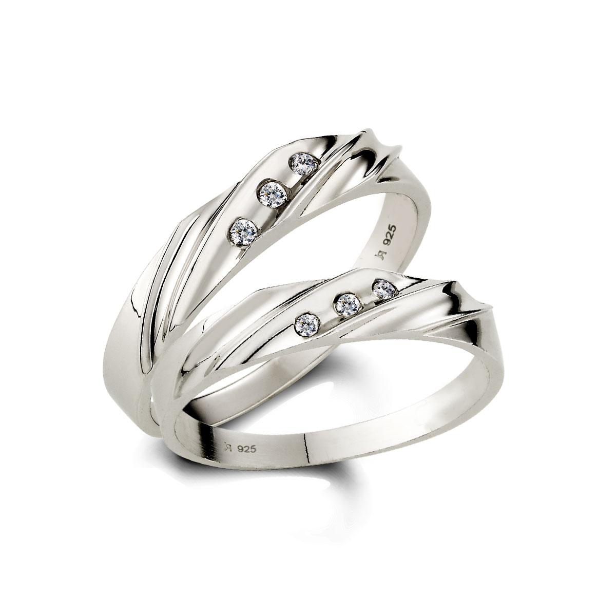 KSH32 愛的蜜糖流線感情侶戒指