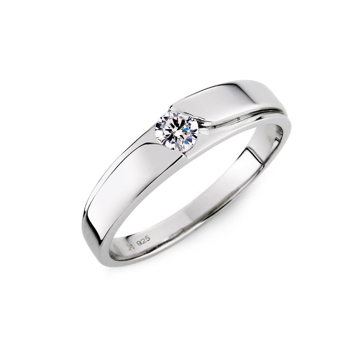 KSM39 因你而在單鑽男生戒指