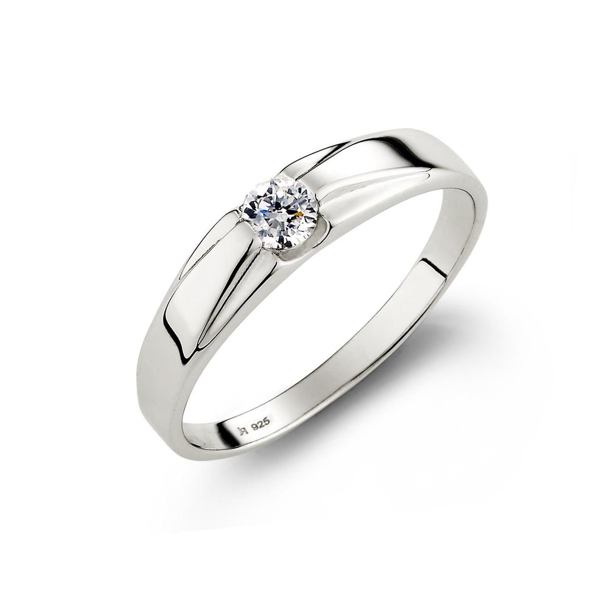 KSM59 永恆之星單鑽戒指