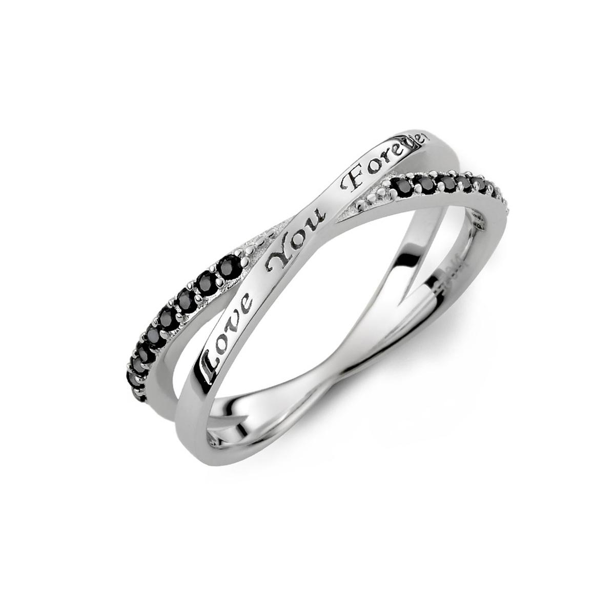 KSM85 彼此永遠的愛交叉戒指
