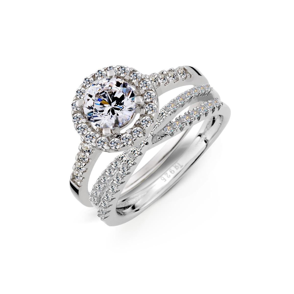 KSV123 奢華幸福溫度組合戒指