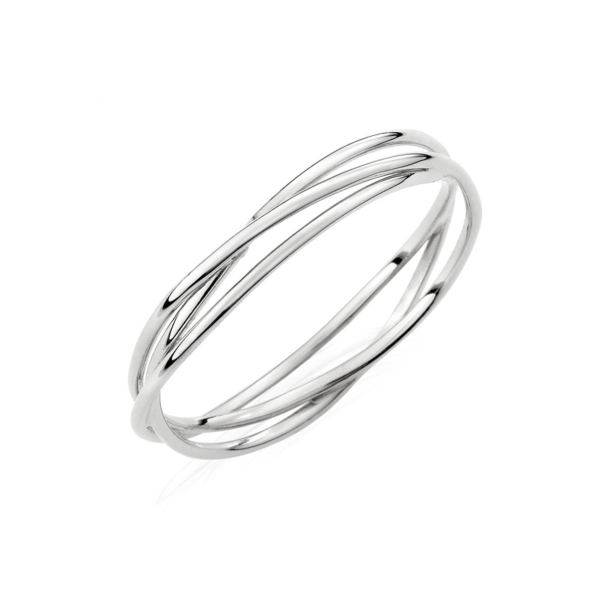 KSW179 簡約哲學-姊妹款專屬三環簡約戒指