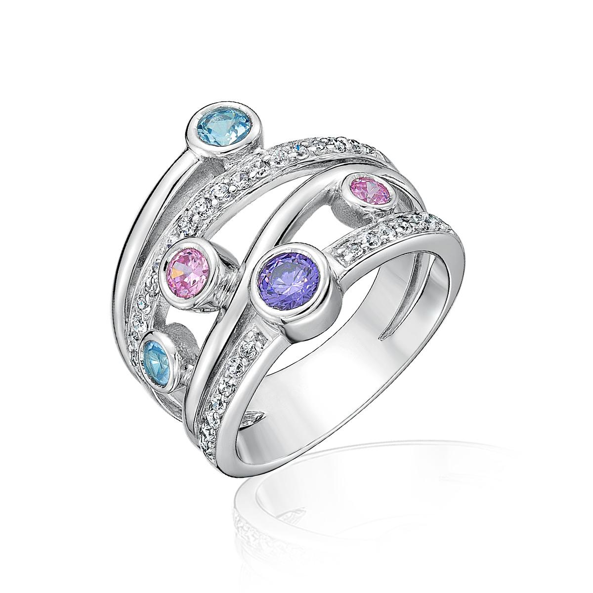 KSW207 彩色遊樂園璀鑽首飾戒指