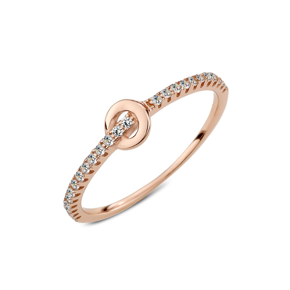 KSW226 典雅設計彩鑽戒指