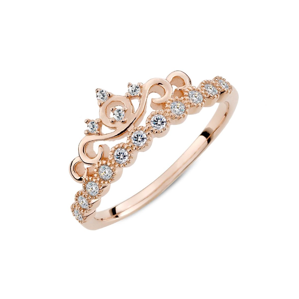 KSW228 仙杜瑞拉彩鑽戒指