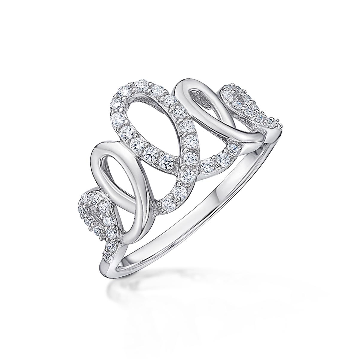 KSW235 璀璨軌跡-皇冠造型奢華戒指
