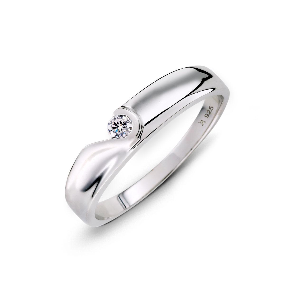KSW253 我們的愛心型組合式戒指