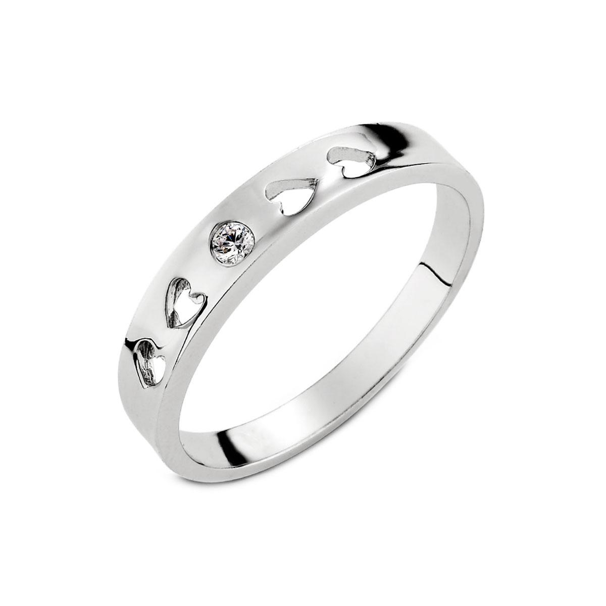KSW274 心上人單鑽簍空戒指