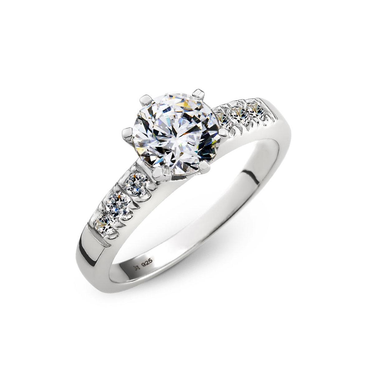 KSW281 一輩子的約定切面戒指