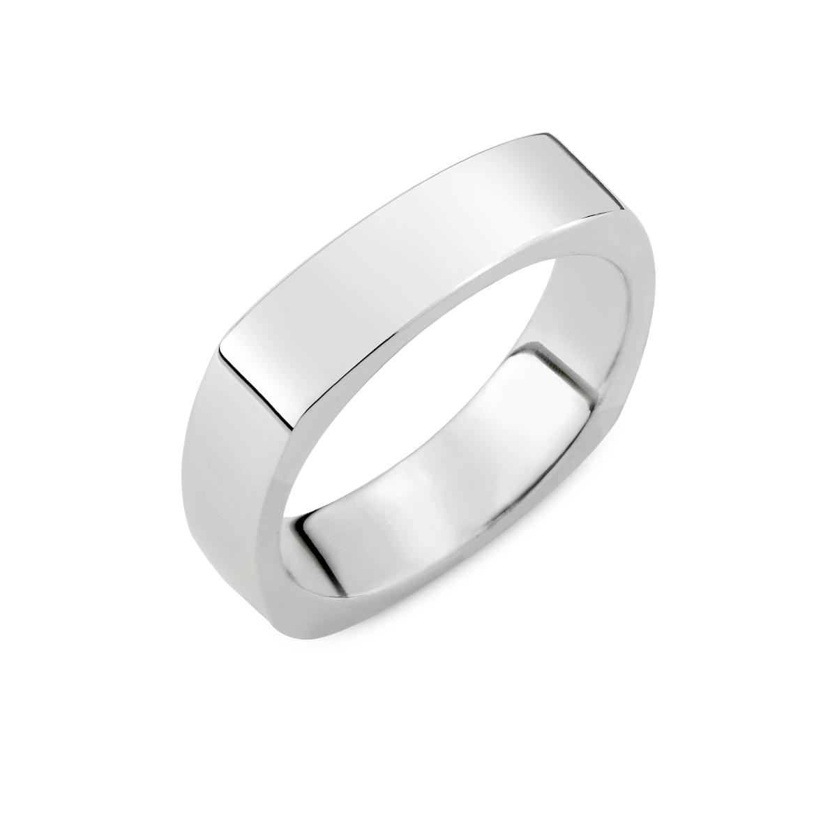 KSW303 經典方形造型厚實戒指