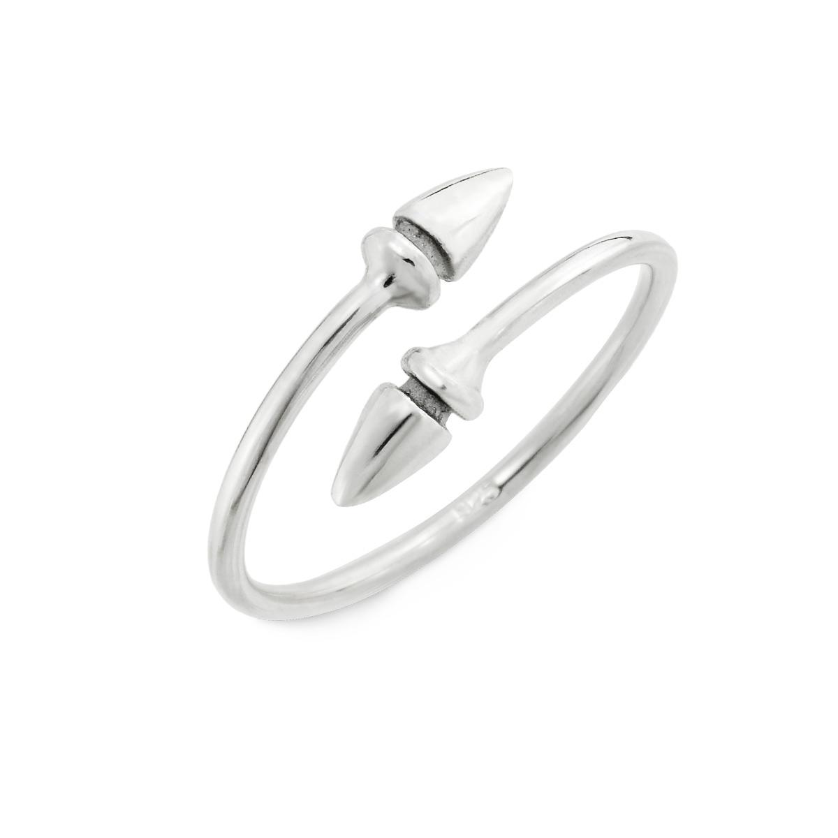 KSW309 雙箭個性姊妹戒指