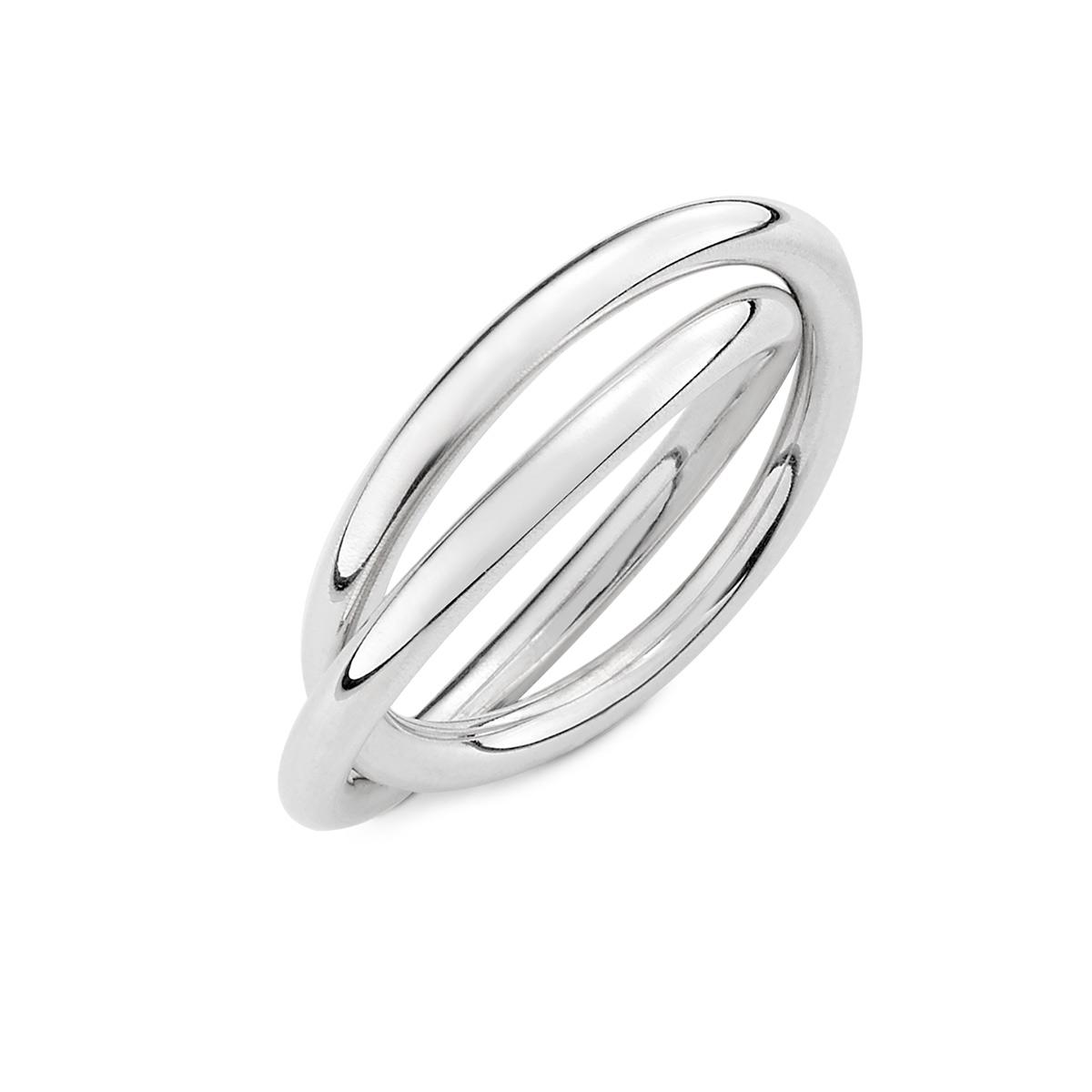 KSW339 簡約雙環戒指