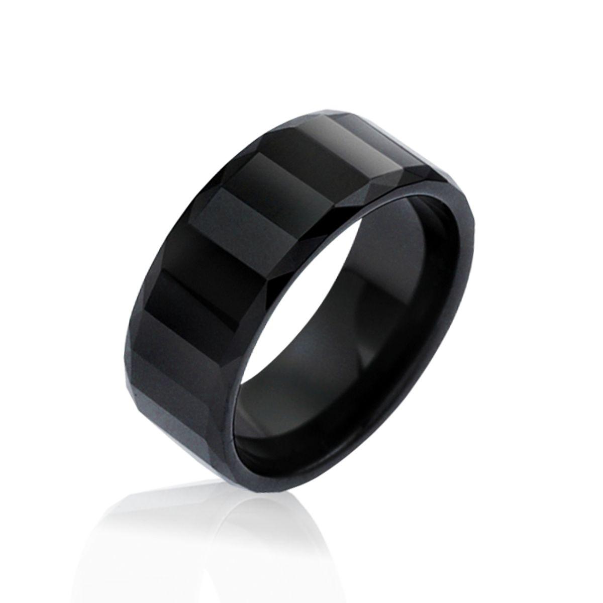 KT12 經典寂靜東方美寬版戒指