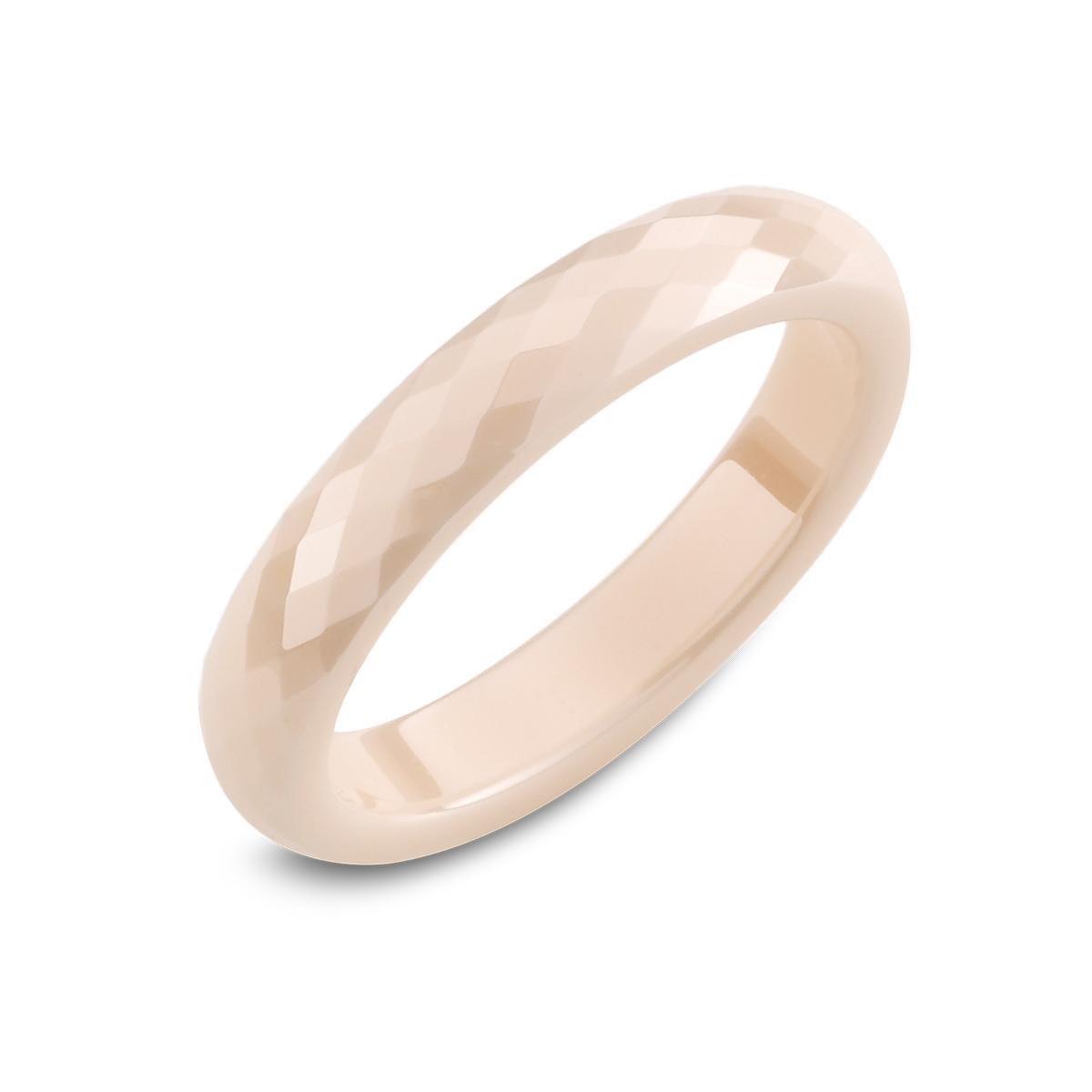 KT32 經典菱格簡約窄版戒指