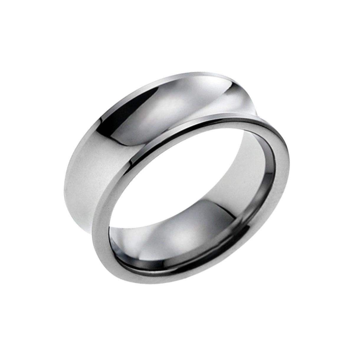KU10 典藏弧型寬版戒指