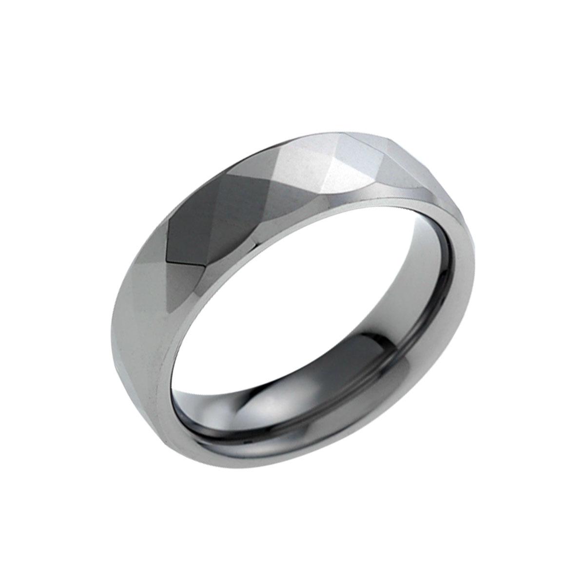 KU3 經典菱格穩重成熟戒指