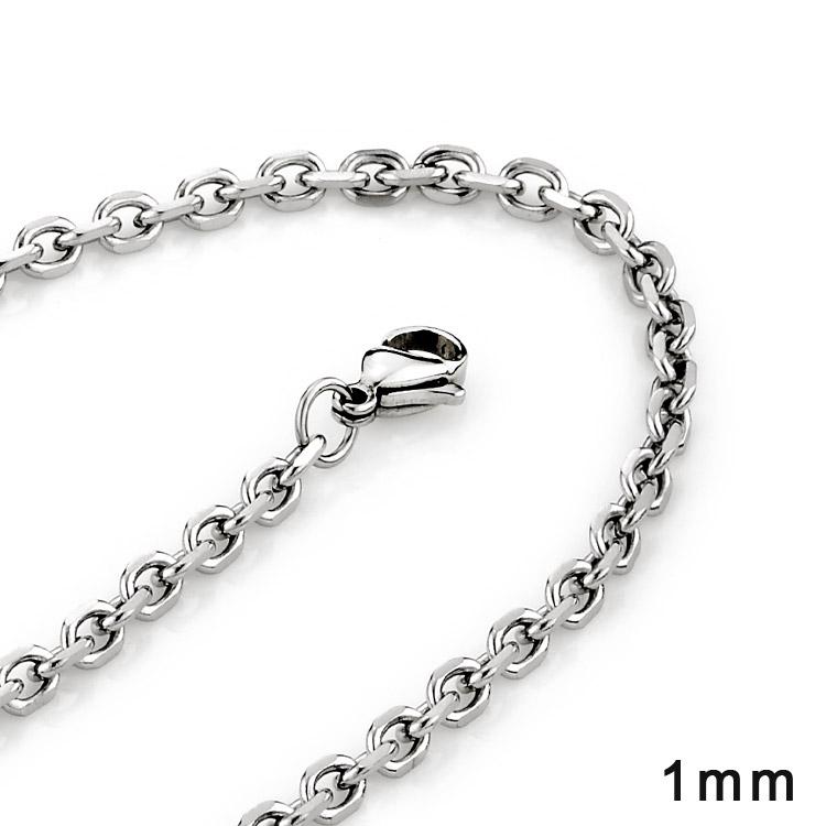 XA10 西德鋼批角鍊|0.1cm