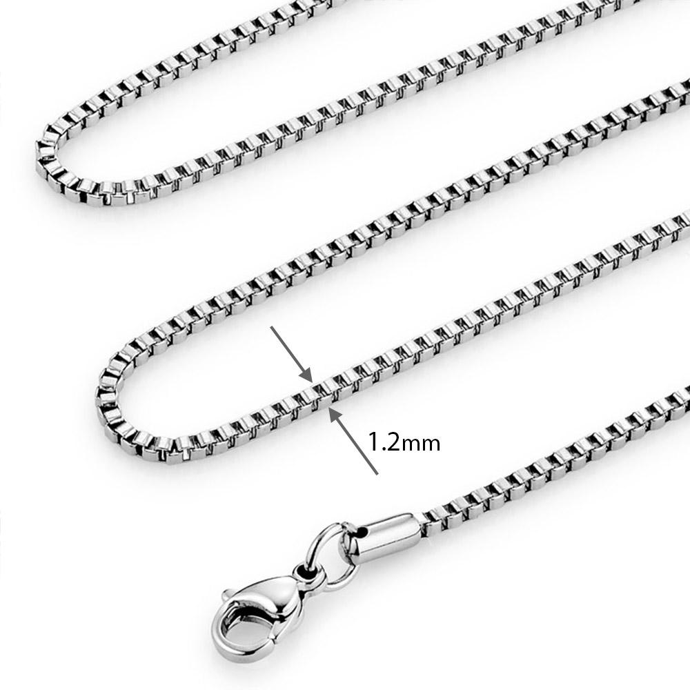 XC12 西德鋼盒仔鍊|0.12cm