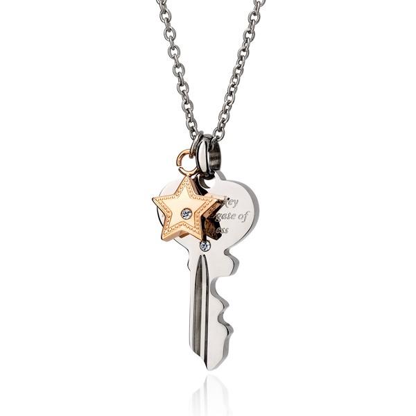 愛的心鑰項鍊