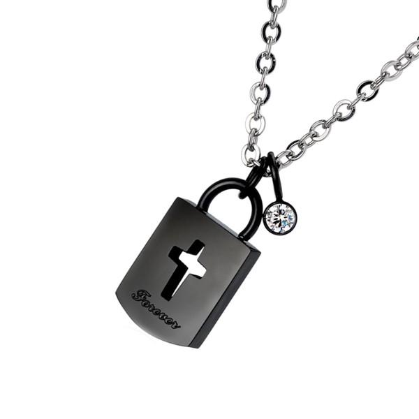 永恆愛戀鎖頭項鍊