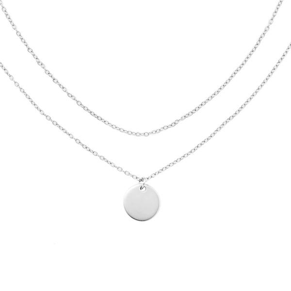 姊妹心語-純真原點細緻純銀項鍊