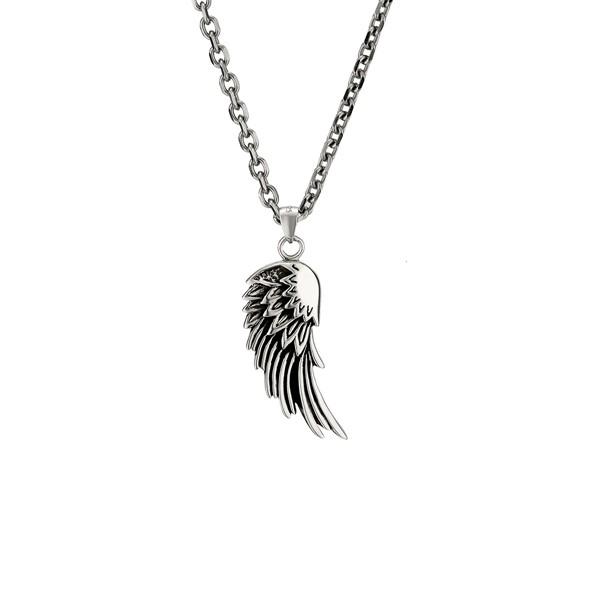 翅膀純銀項鍊