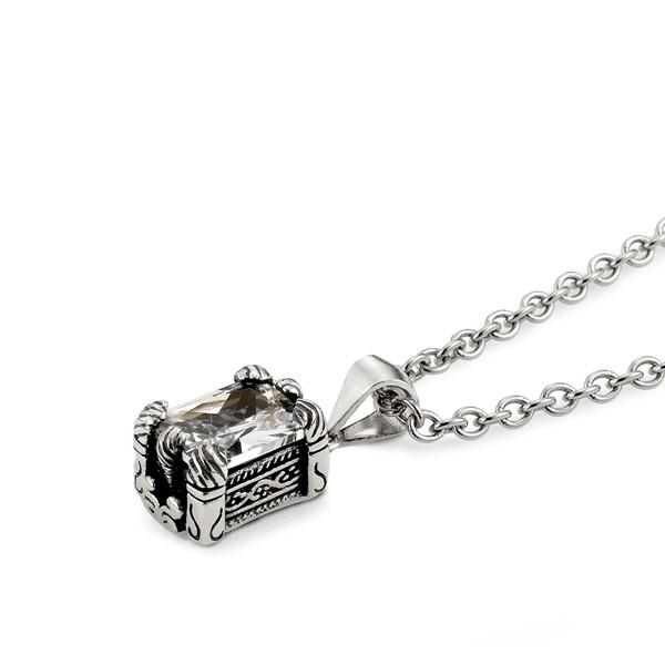 龍爪方鑽項鍊