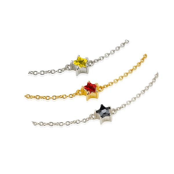 星星細緻項鍊/頸鍊/腳鍊