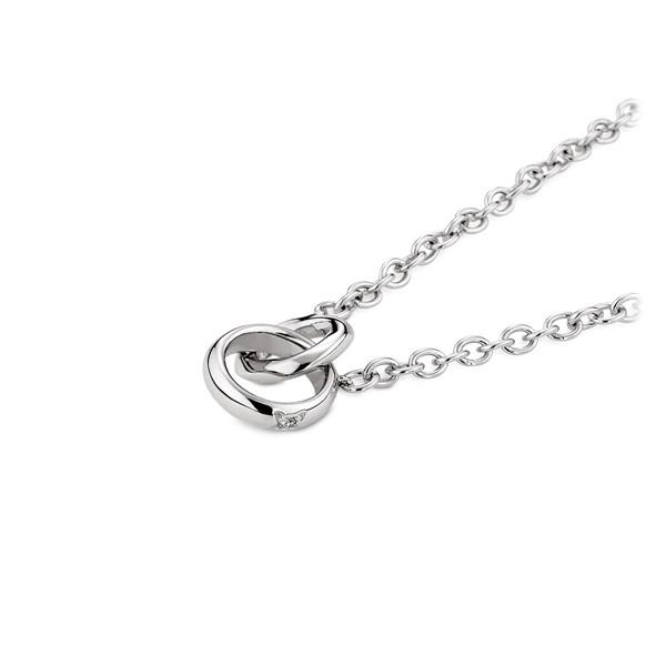 真愛為王 純銀 情侶紀念對鍊/項鍊