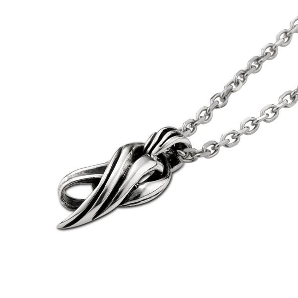 元素流線感硫化 純銀 男款項鍊飾品
