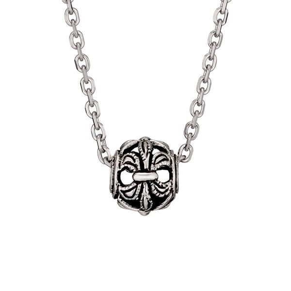 圖騰百搭簍空造型 純銀 男款項鍊飾品