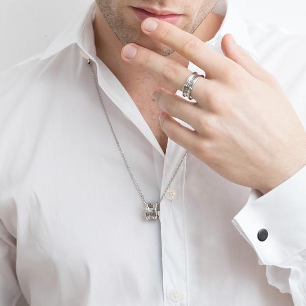 雋刻的記憶純銀項鍊-男