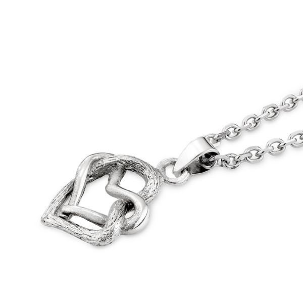 相愛雙心交織項鍊