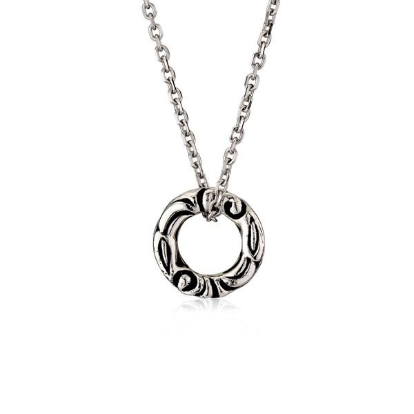 圖騰單環造型項鍊