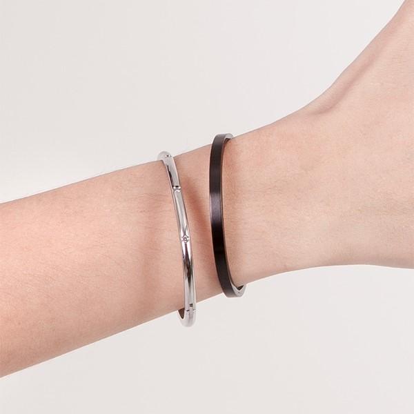極簡個性霧面手環