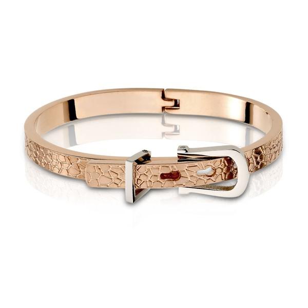 皮帶造型扣住真愛 西德鋼 女款手環/手鍊飾品