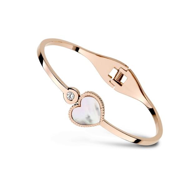 愛在紐約夢幻愛心彩貝手環