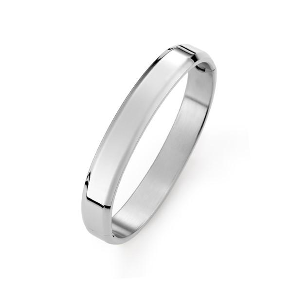 純色圓弧手環-女