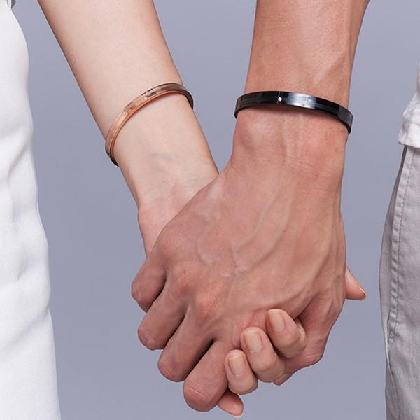 輝煌年代 西德鋼 男款情侶紀念手環/鍊