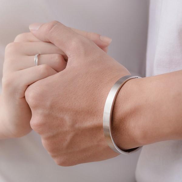 堅定的愛西德鋼手環-男