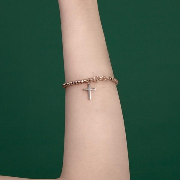十字信仰串珠手鍊