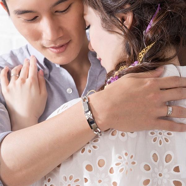 X情人專屬設計 西德鋼 男款情侶紀念手環/鍊