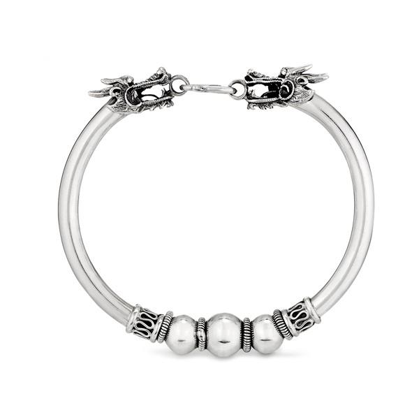雙龍頭龍珠手環