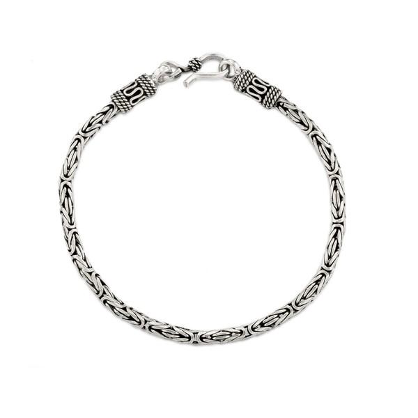 陽光率性 純銀 男款手環/手鍊飾品